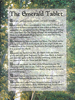 Laminated Emerald Tablet